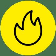 Icono incendio