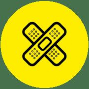 Icono lesiones