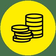 Icono monedas